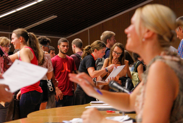 Orientation Week for International Students 2016